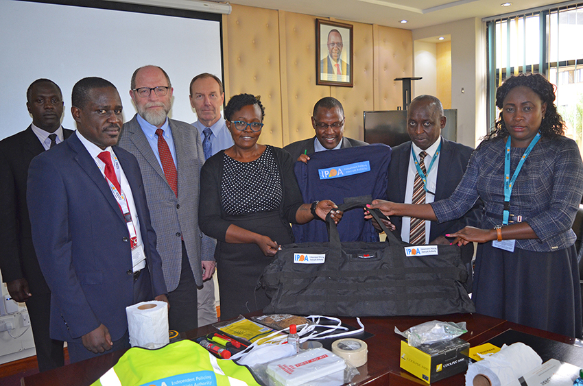 IPOA RECEIVES FORENSIC EQUIPMENT DONATION